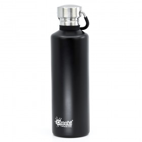 Бутылка для воды Cheeki Classic Water Bottle Single Wall 750 мл Matte Black