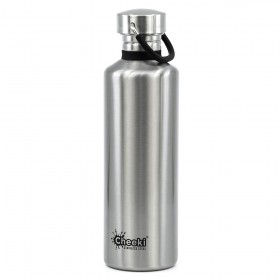 Бутылка для воды Cheeki Classic Water Bottle Single Wall 750 мл Silver