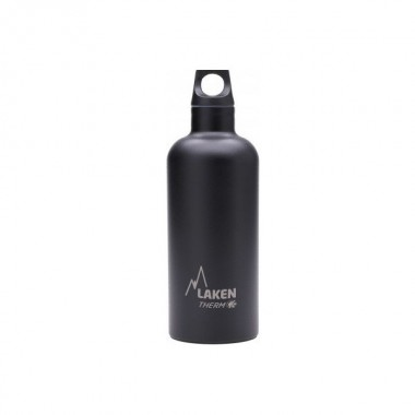 Термофляга Laken St. steel thermo bottle 18/8  - 0,35L (TE3N) Black