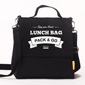 Ланчбег  Lunch Bag L+ черный