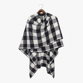 Кейп Soho Buffalo Plaid Woolkrafts WKAP103P
