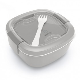 New! Ланчбокс Bentgo Salad On-The-Go Salad Container, Gray