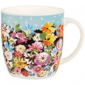 Кружка CHURCHILL Queens Collier Campbell Flower Patch Olive 300мл COCA00351