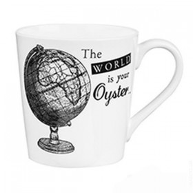 Кружка CHURCHILL Queens The World is Your Oyster Mug 300мл
