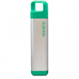 Бутылка для воды Clean bottle Stainless Square Green 600 мл