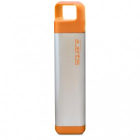 Бутылка для воды Clean bottle Stainless Square Orange 600 мл