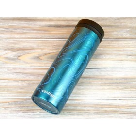 Tермокружка Contigo THERMALOCK TwistSeal EclipseTravel Mug 591 мл. Topo Graphics