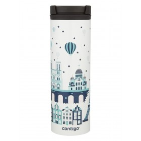 Tермокружка Contigo THERMALOCK TwistSeal EclipseTravel Mug 591 мл. White Paris