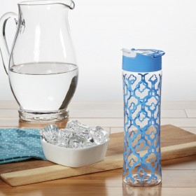 Бутылочка Fit & Fresh Tritan Water Bottle Cornflower Ikat 591 ml