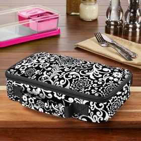 New! Ланч бокс Fit & Fresh Bento Lunch Box Black & White