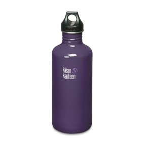 Фляга Klean Kanteen Classic Brushed Stainless 1182 ml фиолетовый