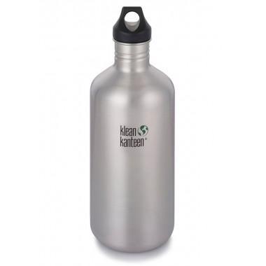 Фляга Klean Kanteen Classic Brushed Stainless 1900 ml Brushed Stainless