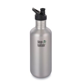 Фляга Klean Kanteen Classic Sport Cap Brushed Stainless 1182 ml