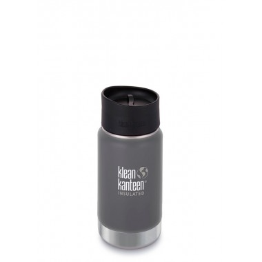 Термофляга Klean Kanteen Wide Vacuum Insulated Cafe Cap 355 ml Granite Peak (matt)