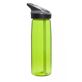 Бутылка для воды LAKEN Tritan Jannu bottle 0,75 L Clear Green