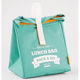 Для ланча термосумка Lunch Bag  L мята