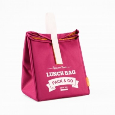 Ланчбег Lunch Bag размер L ягодный