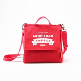 Ланчбег  Pack&Go Lunch Bag L+ красный