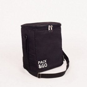 Ланчбег Pack&Go Lunch Bag MULTI черная