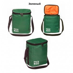 Ланчбег Pack&Go Lunch Bag MULTI зеленый