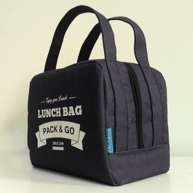 Ланчбег Pack&Go Lunch Bag ZIP чёрный
