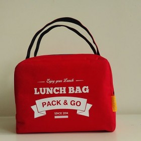 Ланчбег Pack&Go Lunch Bag ZIP красный