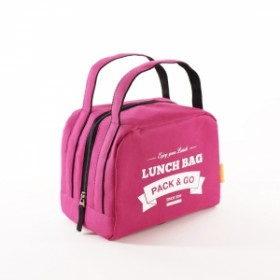 Ланчбег Pack&Go Lunch Bag ZIP ягодный