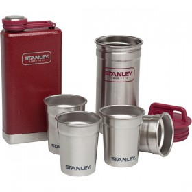 Набор для мужчины Stanley Adventure Steel Shots+Flask Gift Set