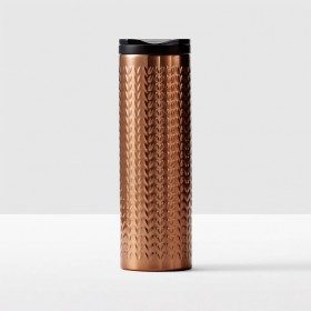 Тамблер Starbucks Copper Sweater Tumbler, 473 ml