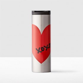 Термокружка Starbucks Stainless Steel Heart Tumbler, 473 ml