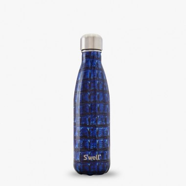 Бутылка S'Well Water Bottle (LENA-17-B14) NAVY ALLIGATOR