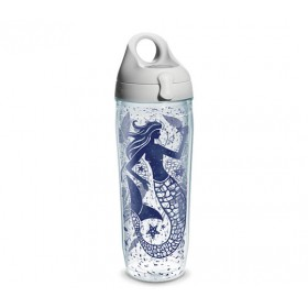 Бутылка для воды Tervis Water Bottle 700мл Vintage Mermaid Collage