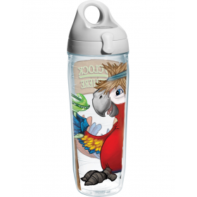 Спортивная бутылка для воды Tervis Water Bottle (T014) It's 5 O'Clock Somewhere Parrot