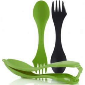 Ловилки Light My Fire Spork Original Sporks'n Case 2 в кейсе Black/Green 41444713