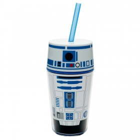 Термостакан с соломинкой Zak Star Wars Insulated Tumbler with Straw - R2-D2 0,4мл