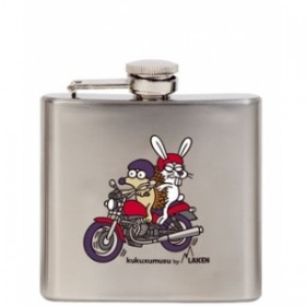 Карманная фляга Kukuxumusu hip flask 150 ml. Paquete KP5-PA