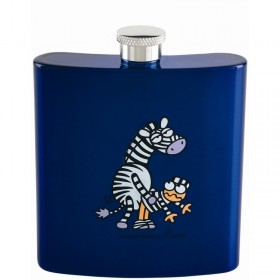 Карманная фляга KP6-L Kukuxumusu hip flask 180 ml. Stripe