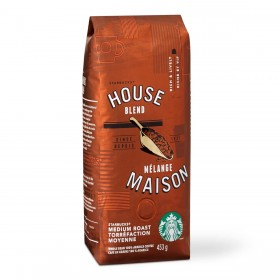 Кофе Старбакс Сoffee Starbucks House Blend Maison, Ground, 453 gr. (молотый)