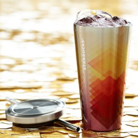 Стакан с трубочкой Starbucks Stainless Steel Cold-to-Go Cold Cup