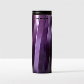 Тамблер STARBUCKS STAINLESS STEEL SWIRL TUMBLER - PURPLE 473 МЛ
