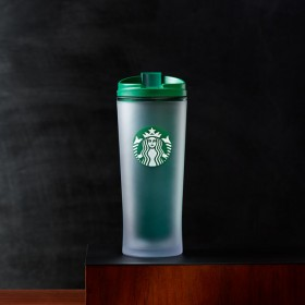 Термокружка Starbucks Acrylic Frosted Siren Tumbler - Green, 473 ml
