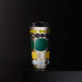 Термокружка Starbucks Circles and Dots Stainless Steel Tumbler 473мл