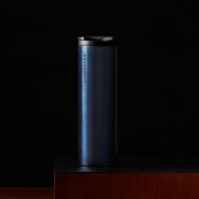Термокружка Starbucks Stainless Steel Tumbler - Navy Blue 473 мл.