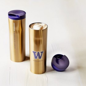 Термокружка Starbucks UW Collection Stainless Steel Tumbler - Gold, 473 мл.
